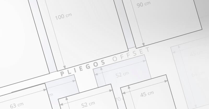 Pliegos para imprimir en offset
