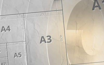 ¿Cuánto miden los papeles DIN?