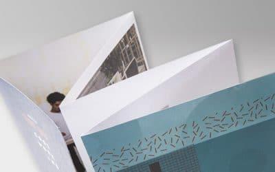 Cómo elegir el plegado para tus impresos