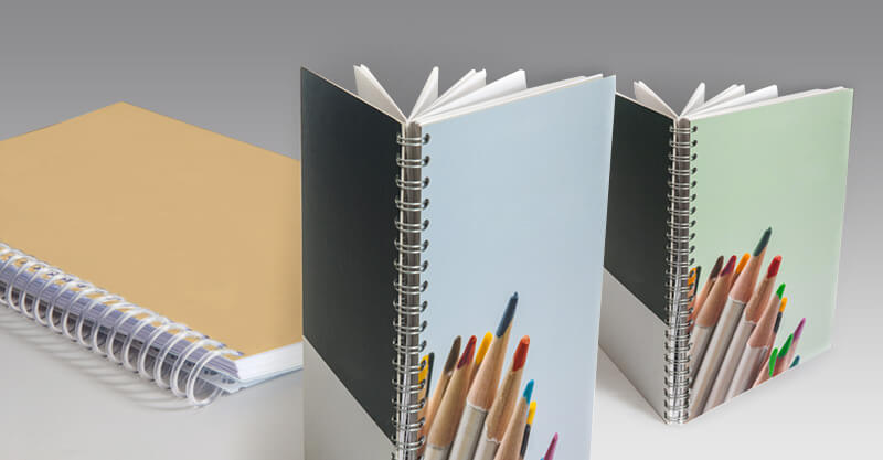NOTEPADS and JOTTERS, glued or with Wire-O