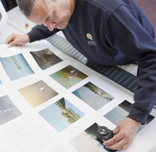 Control, pruebas e impresión de calidad