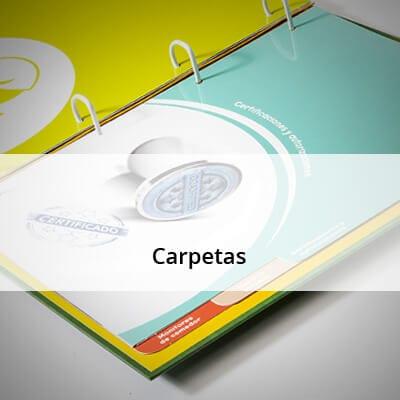 Gran variedad de carpetas