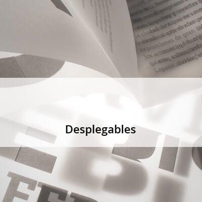 Desplegables y folletos