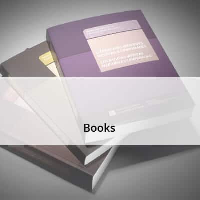 Books in different formats and bindings
